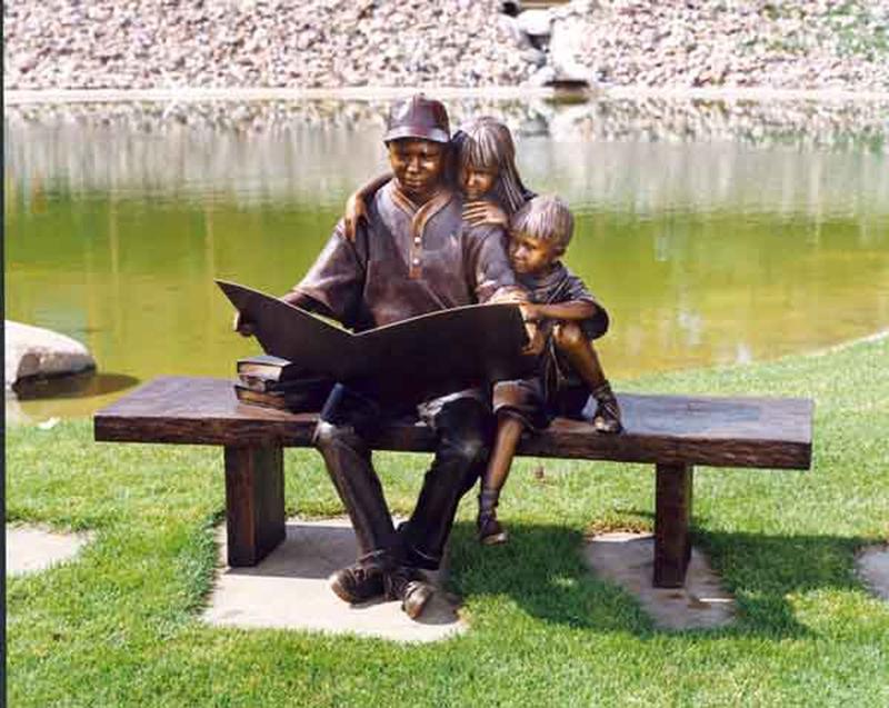 raccontosupanchinaGeorge_Lundeen_1948_-_American_Figurative_sculptor_-_Tutt_Art_38_