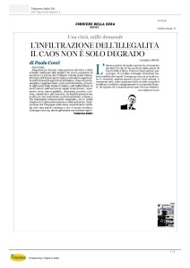 Infiltrazione illegalità_Corriere della Sera 2016