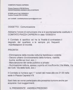 Comitato piazza Caprera