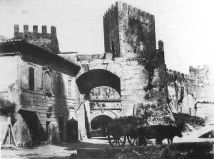 Porta Tiburtina. 1869