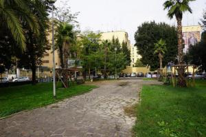 Piazza Belle Arti pulita