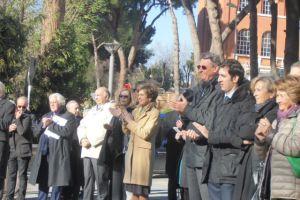 Inaugurazione balconata piazzale Churchill 2