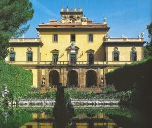 Villa Lusa. Facciata sud