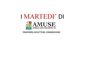 I MARTEDì DI AMUSE 092015
