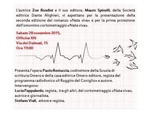 Presentazione Nata Viva 28_11_2015