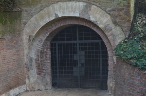 Bunker di Villa Ada. Ingresso. 2016